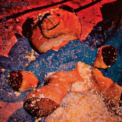 Bazookas neues Cover zeigt einen zerfledderten Teddy