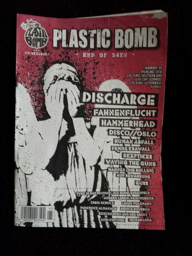 Das Cover der Plastic Bomb #95