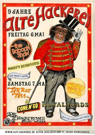 Oberschickes Jubiläums-Plakat