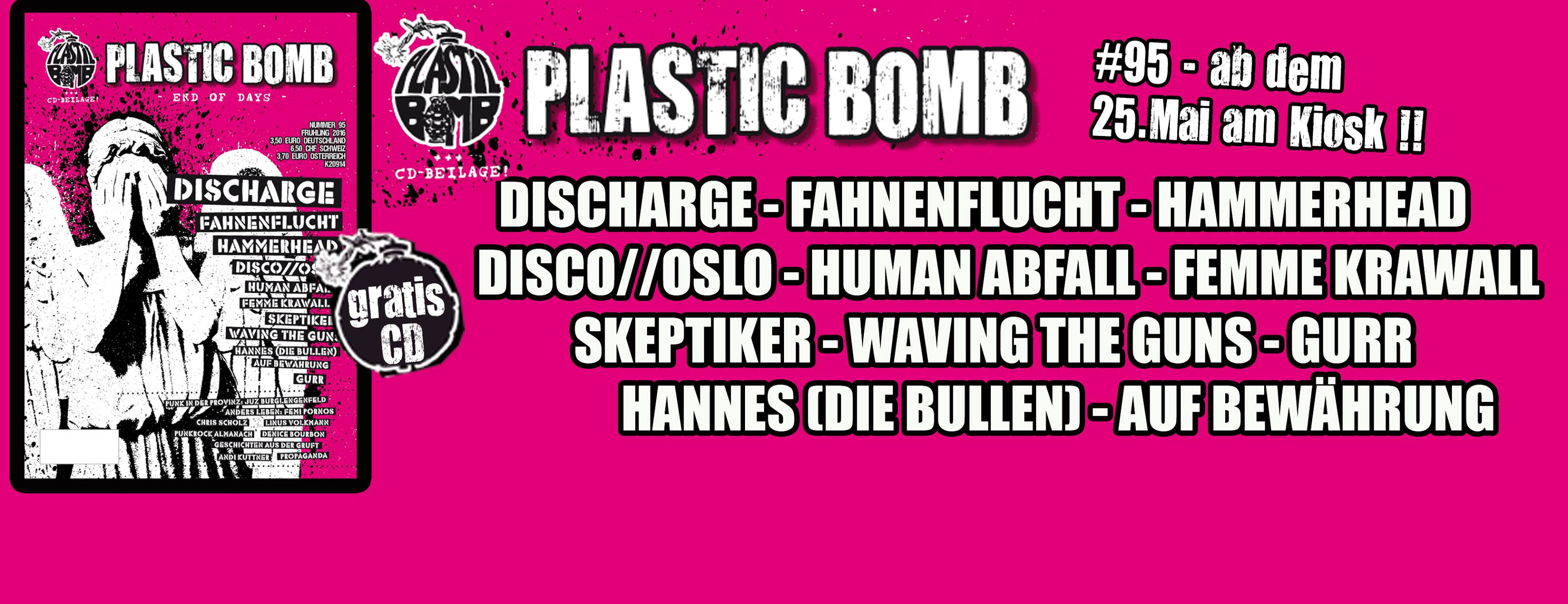 Plastic Bomb Titelbild
