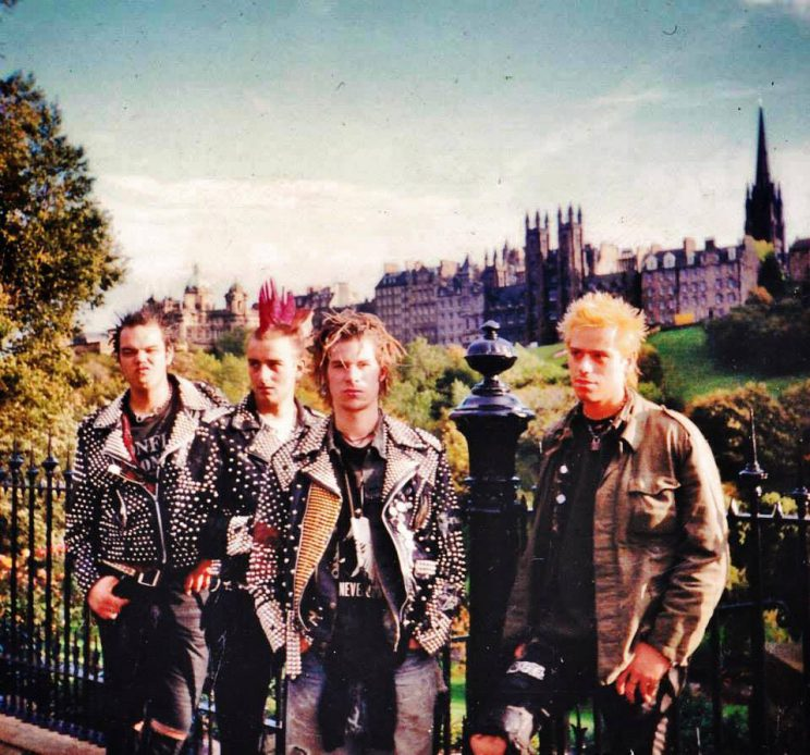 Nicht aus 1996, sondern 1995 in Edinburgh/Schottland