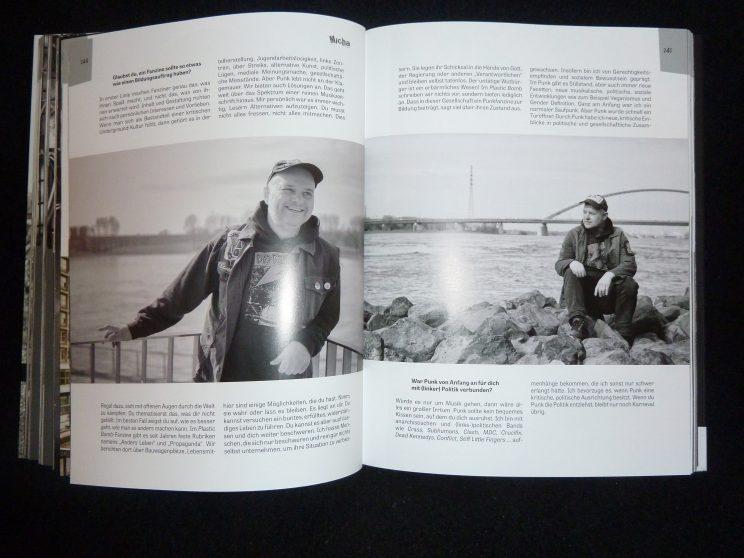 Micha, Gründungsmitglied und Identifikationsperson des Plastic Bomb fantastischer Geschichtenschreiber