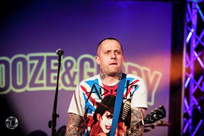 Mark, gebürtiger Pole und Sänger von Booze & Glory