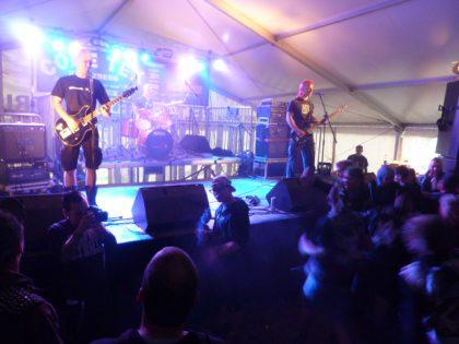 Telekoma, eine der drei besten Bands des Festivals