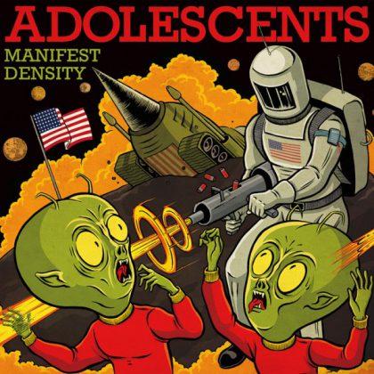 Druckfehler oder Absicht? Das Cover des neuen The Adolescents Cover